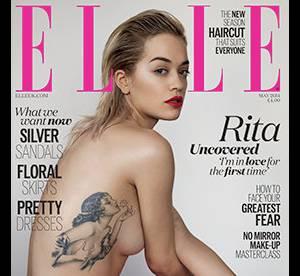 Rita Ora : seins nus pour ELLE, elle dévoile son tatouage années 30