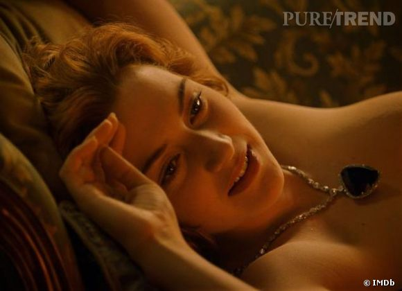 """Kate Winslet se dit encore """"hantée"""" par la scène de nu de """"Titanic""""."""