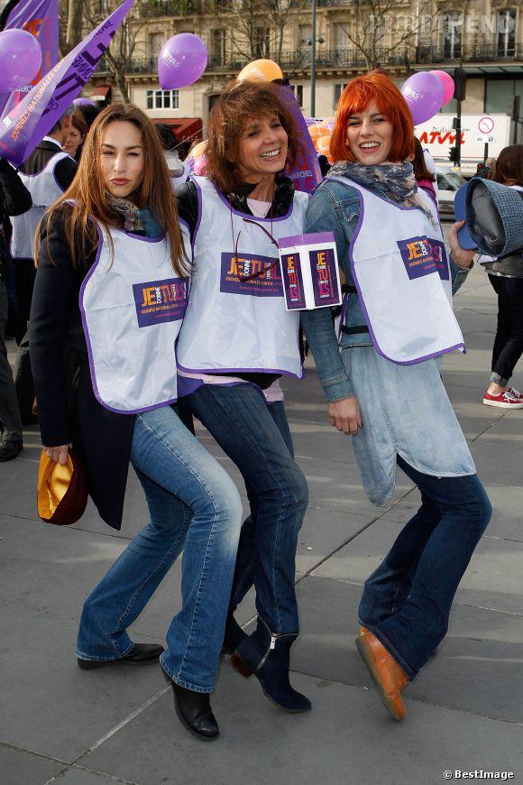 Vanessa Demouy et Fauve Hautot, ambassadrices pour les journées nationales contre la leucémie.