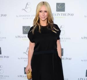 """Jennifer Love Hewitt à la soirée de présentation de sa ligne de vêtements pour grossesse """"L By Jennifer Love Hewitt"""", disponible dès le 2 avril 2014."""