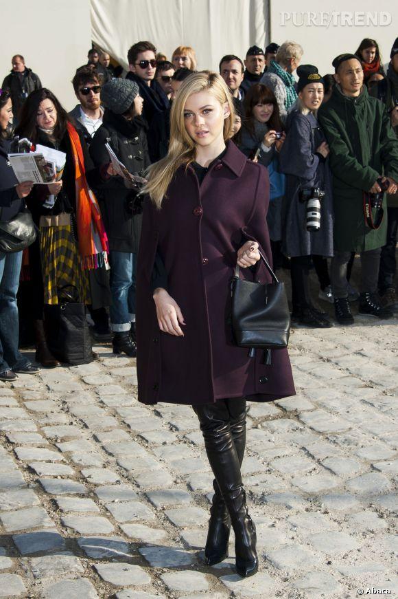 Nicola Peltz fait déjà sensation aux Fashion Week.