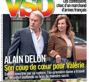 Valérie Trierweiler et Alain Delon : les dessous de leur amitié