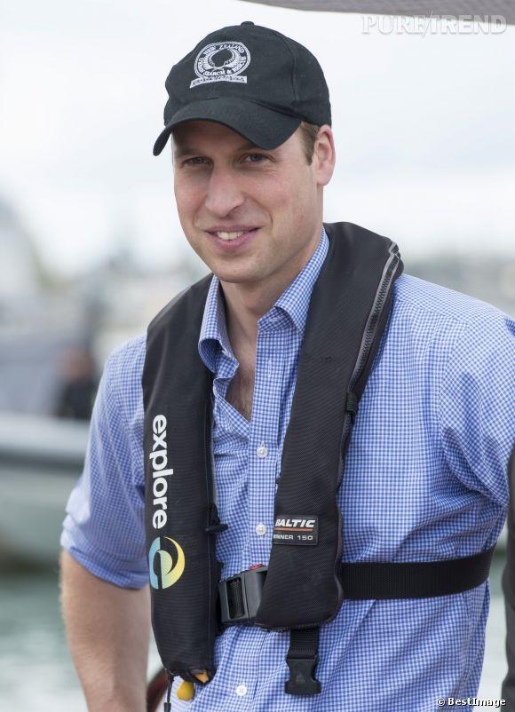 Le prince William affichait un peu trop de décontraction durant la course, ce qui l'a fait perdre contre sa femme.