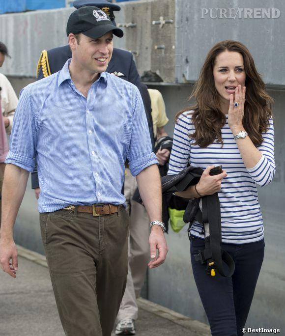 Kate Middleton et le Prince William, un peu de décontraction en Nouvelle-Zélande, autant au niveau du style que des activités.