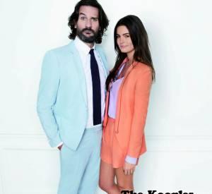 Campagne The Kooples, Printemps-Eté 2012 avec Frédéric Beigbeder et Lara Micheli.