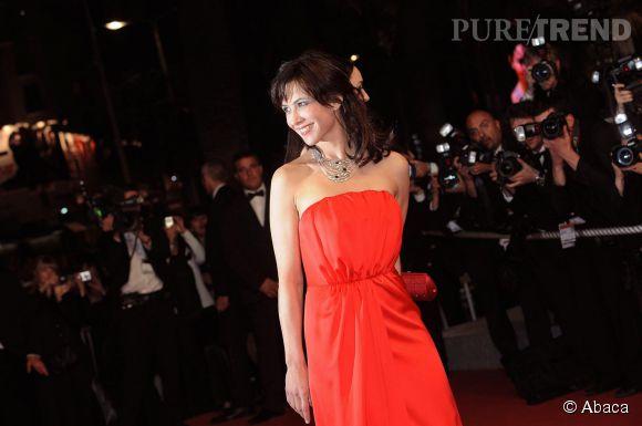 Sophie Marceau en mai 2009 lors du 62ème Festival de Cannes.