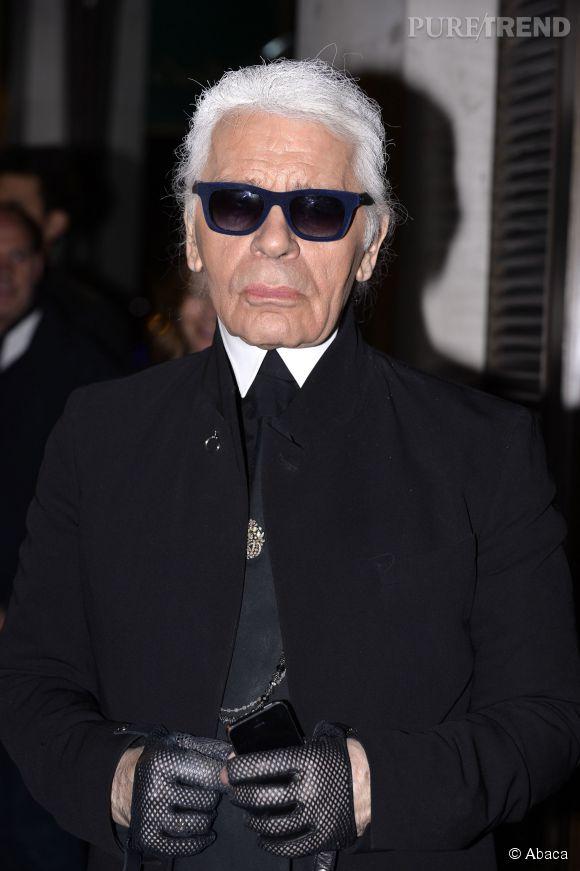 Pour Karl Lagerfeld, porter un jogging c'est perdre le contrôle de sa vie. A méditer!