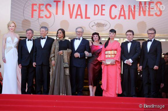 Daniel Auteuil était membre du jury du Festival de Cannes en 2013.