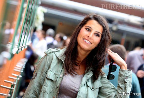 Karine Ferri, la nouvelle égérie Colgate au sourire ultra-bright.