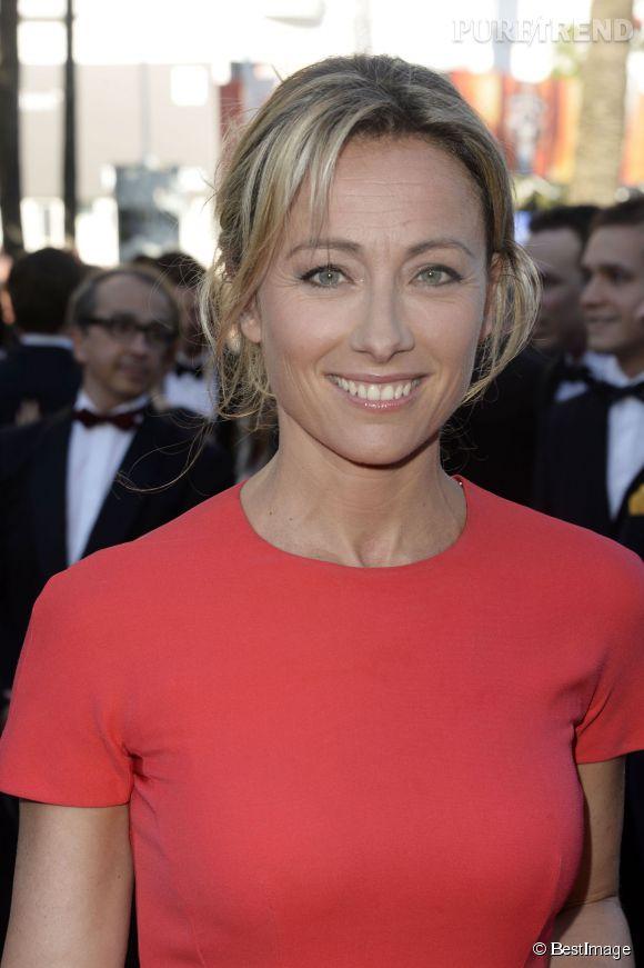Anne-Sophie Lapix est la maman de deux petits garçons, nés en 2003 et 2005.