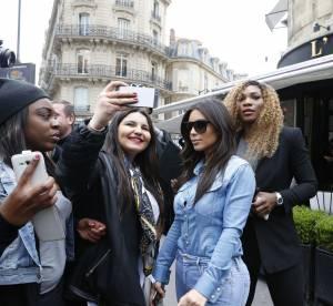 Kim Kardashian et Serena Williams, une balade très remarquée à Paris