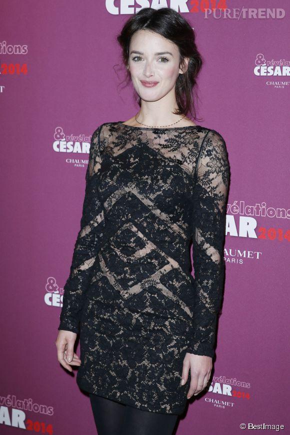 """Charlotte Le Bon au casting de """"The one hundred foot journey"""", produit par Steven Spielberg."""