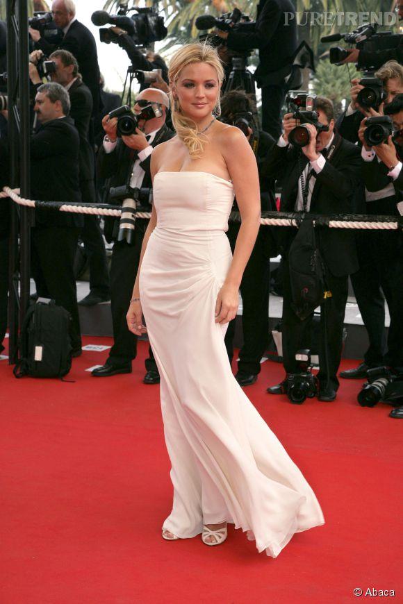 Virginie Efira a 37 ans, lundi 5 mai 2014. Ici au Festival de Cannes le 20 mai 2006.