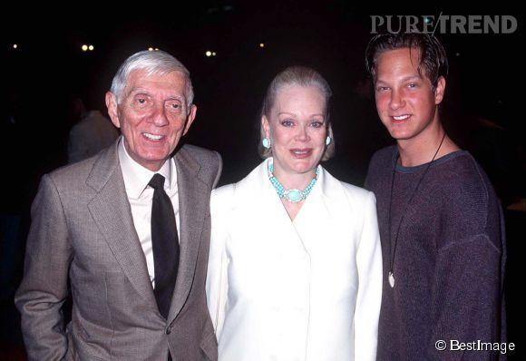 A la mort d'Aaron Spelling, Candy et Tori se sont fâchées. Ici le couple pose avec leur fils Randy.