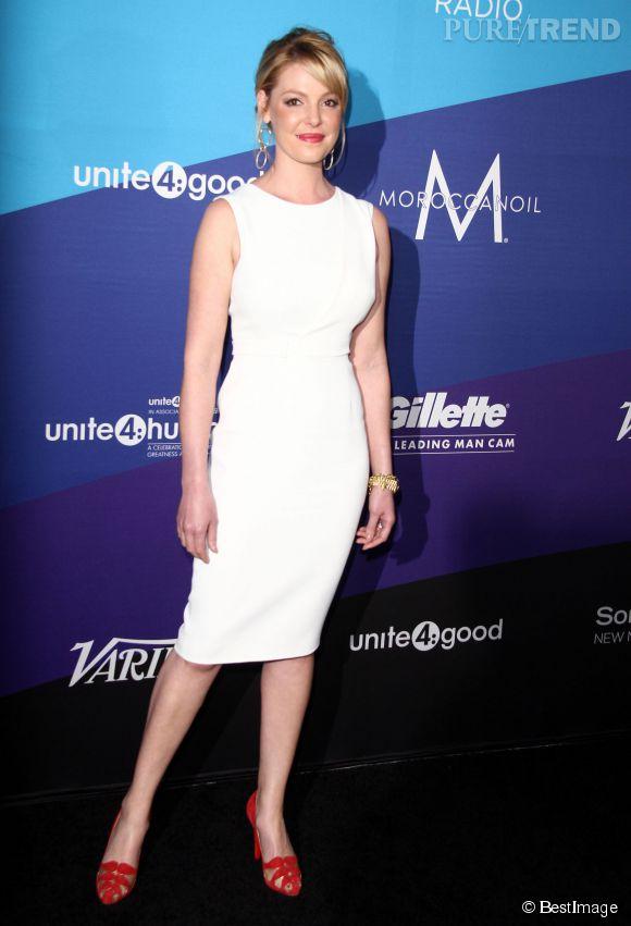 Katherine Heigl fera bientôt son grand retour à la télé dans la série State of Affairs.