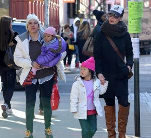 Katherine Heigl, en famille le 18 mars 2014. Maintenant, elle est prête pour reprendre sa carrière.