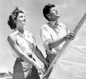 Jackie Kennedy et John Kennedy en juin 1953.