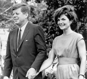 Jackie Kennedy et John Kennedy en mai 1962.