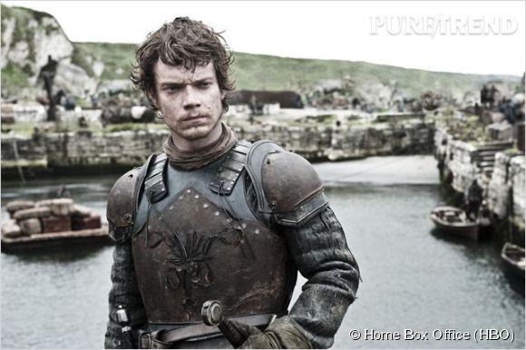Alfie Allen dans le rôle de Theon Greyjoy dans Game of Thrones.