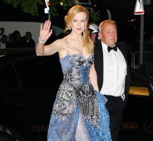 Cannes 2014, Nicole Kidman : petit accident de robe sur tapis rouge