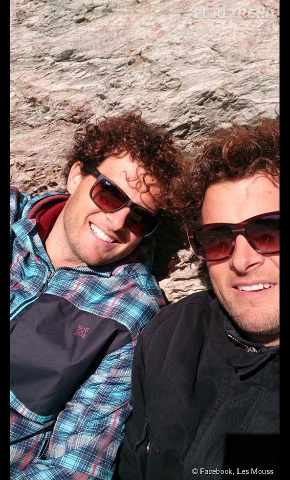 Sylvain Moussilmani (à gauche), windsurfer de haut niveau, est le nouvel amoureux de Laure Manaudou.