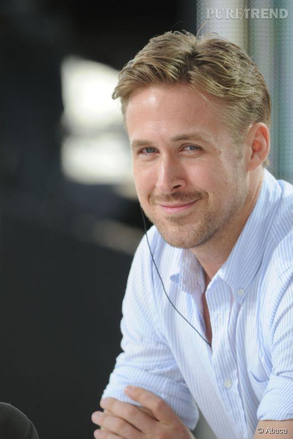 Ryan Gosling était présent mardi 20 mai sur le plateau du Grand Journal de Canal+, au Festival de Cannes.