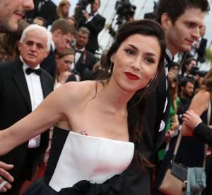 Olivia Ruiz était sublime pour la montée des marches du film Foxcatcher au Festival de Cannes, lundi 19 mai 2014.