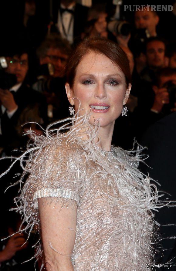 Julianne Moore n'était pas présente lors de la remise du prix d'Interprétation féminine à Cannes.