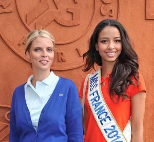 Flora Coquerel et Sylvie Tellier : duo de charme ultra-tendance à Roland Garros