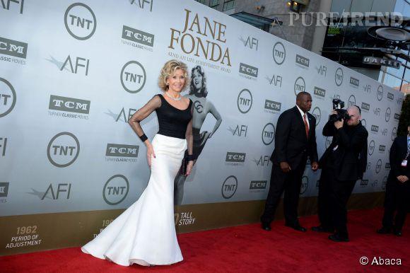 Jane Fonda honorée lors de la soirée AFI Life Achievement Award : A tribute to Jane Fonda à Los Angeles le 5 juin 2014.