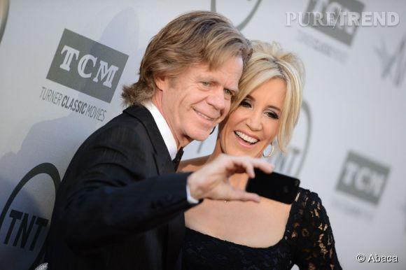 William H. Macy et Felicity Huffman lors de la soirée AFI Life Achievement Award : A tribute to Jane Fonda à Los Angeles le 5 juin 2014.