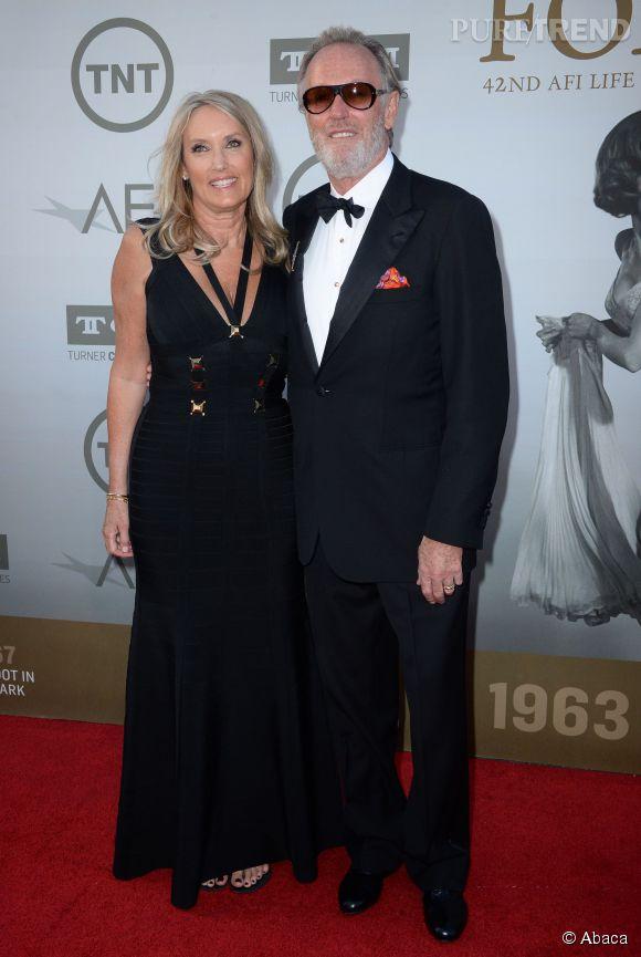 Peter Fonda lors de la soirée AFI Life Achievement Award : A tribute to Jane Fonda à Los Angeles le 5 juin 2014.