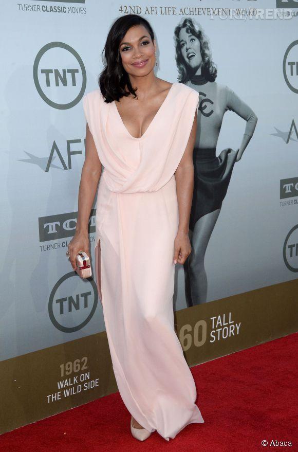 Rosario Dawson lors de la soirée AFI Life Achievement Award : A tribute to Jane Fonda à Los Angeles le 5 juin 2014.