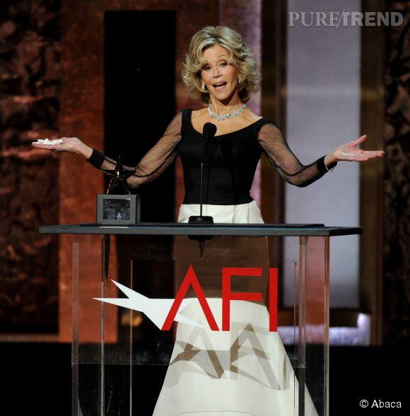 Jane Fonda lors de la soirée AFI Life Achievement Award : A tribute to Jane Fonda à Los Angeles le 5 juin 2014.