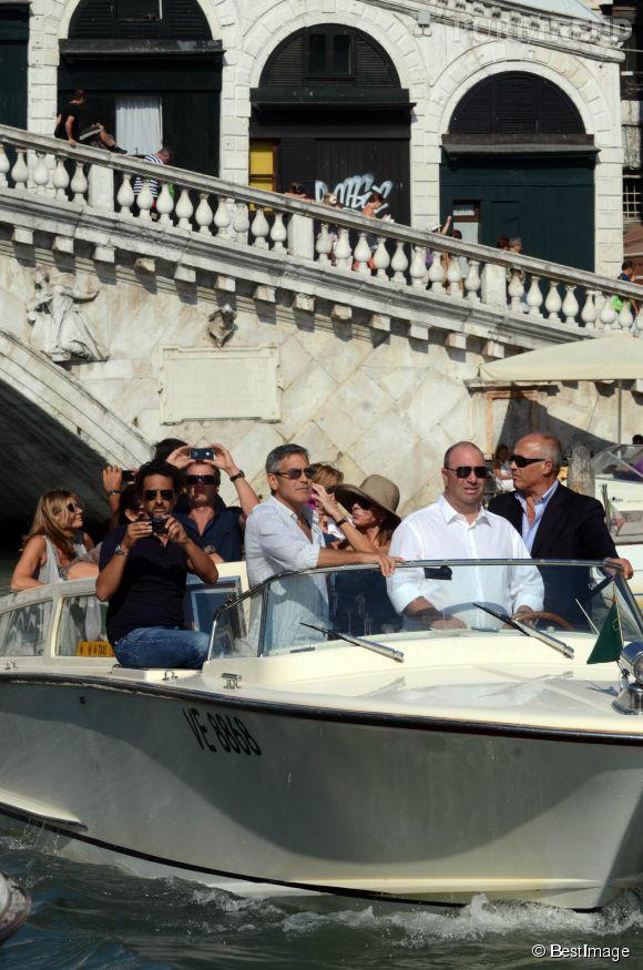 George Clooney est un habitué de Venise.