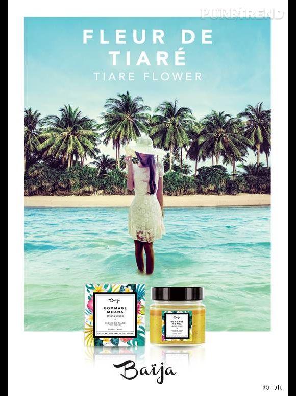 Pour célébrer l'arrivée de l'été Baija lance sa gamme parfumée au monoï, Fleur de Tiaré.