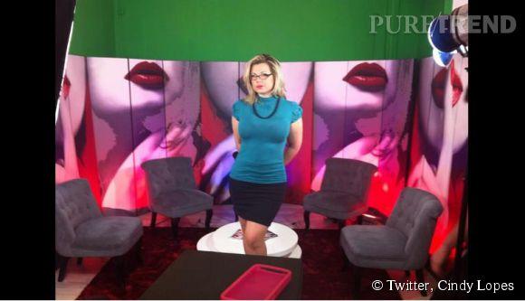 Cindy Lopes joue sur le teasing, dévoilant à demi-mots qu'elle jouera les animatrices en septembre 2014.