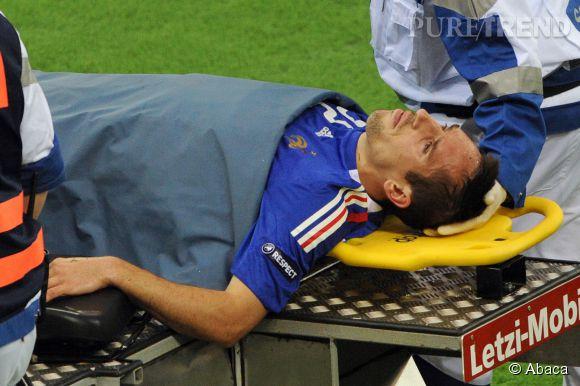 Blessé, Franck Ribéry a dû déclarer forfait pour la coupe du monde du Brésil en 2014.