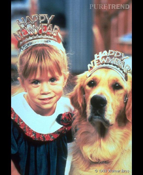 Ashley Olsen dans La Fête à la maison en 1988.