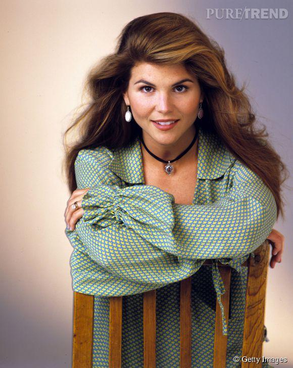 Lori Loughlin dans La Fête à la maison en 1993.