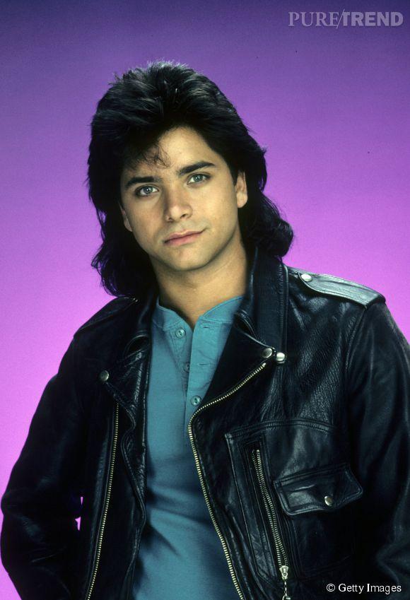 John Stamos dans La Fête à la maison en 1987.
