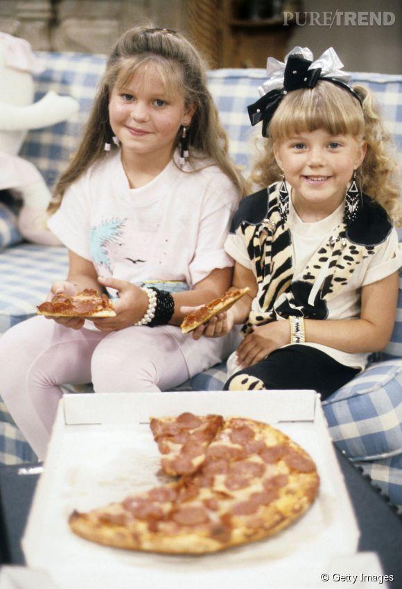 CandaceCameron et Jodie Sweetin dans La Fête à la maison en 1987.