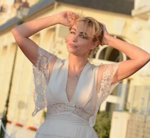 Emmanuelle Béart, la robe transparente qui affole Cabourg