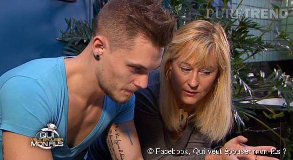"""Steven et sa mère Corinne dans """"Qui veut épouser mon fils ?"""" saison 3."""