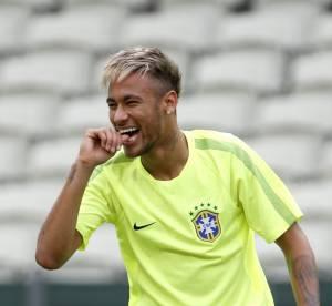 Mondial 2014 : Neymar, une coupe blonde avant d'affronter le Mexique