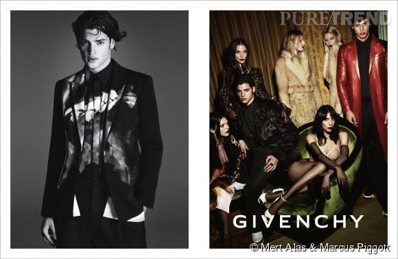Campagne Automne-Hiver 2014/2015 de Givenchy avec Kendall Jenner.