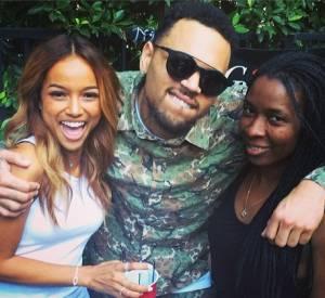 Pour la sortie de prison de Chris Brown, Karrueche Tran avait organisé une petite fête.