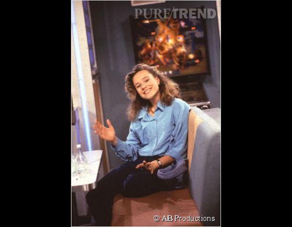 """Dans les années 90, Camille Raymond était Justine Girard, la star de """"Premiers baisers""""."""