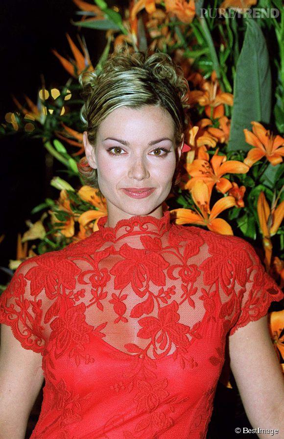 Ingrid Chauvin, l'actrice de Femmes de loi, au Festival de la télé à Monte Carlo en 2001.