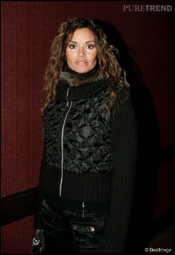 L'actrice Ingrid Chauvin au Festival de la télé de Luchon e février 2005.